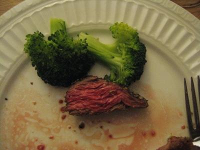Dinner last night