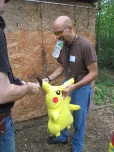Pikachu Gets a Hole