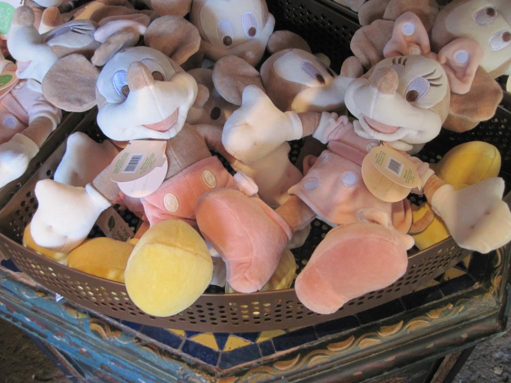 Oddly pale Mickeys