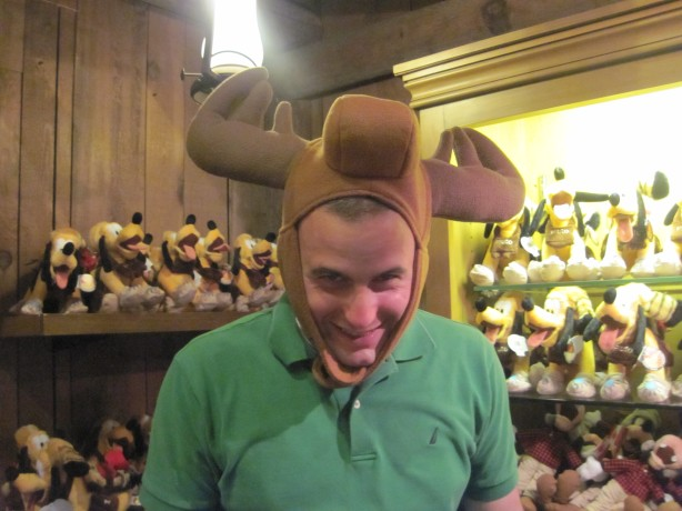 Mike is rather a-moose'd
