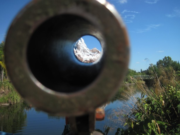 """telescope"" view of ""Everest"""