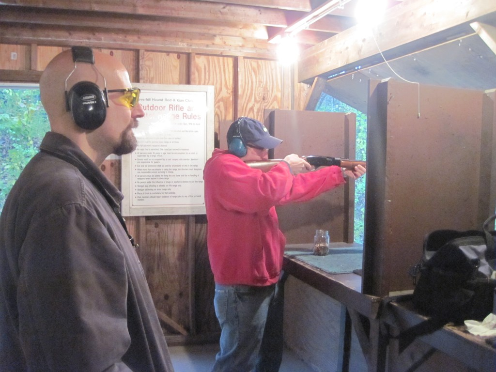 Jay G, and Mike with the .22LR